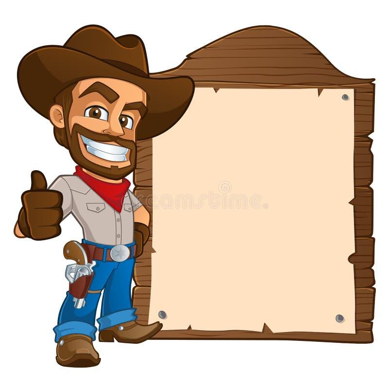 cowboy stock illustrationer