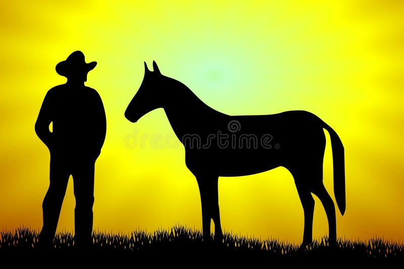 Download Cowboy Royalty Free Stock Images - Image: 7745069