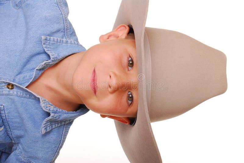 Cowboy 8 del ragazzo fotografie stock