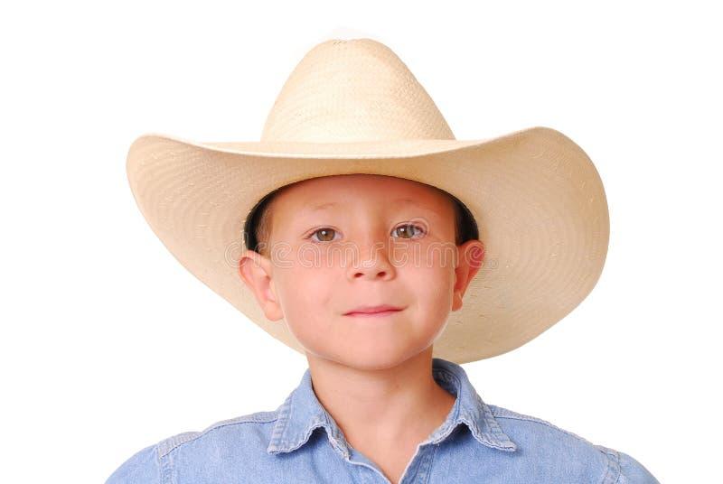 Cowboy 9 van de jongen stock foto