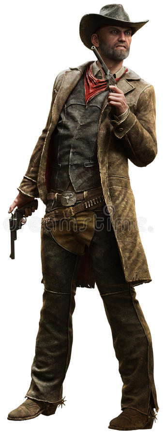 cowboy stock illustratie