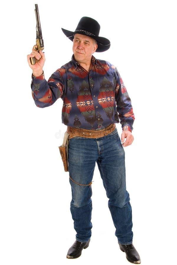 Cowboy américain. photographie stock