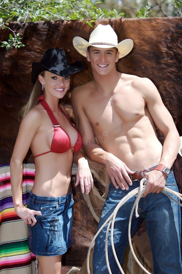Cowboy americana images libres de droits