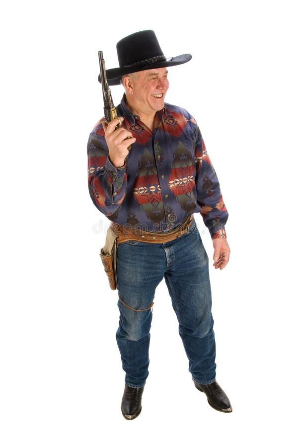 Cowboy amical. image stock
