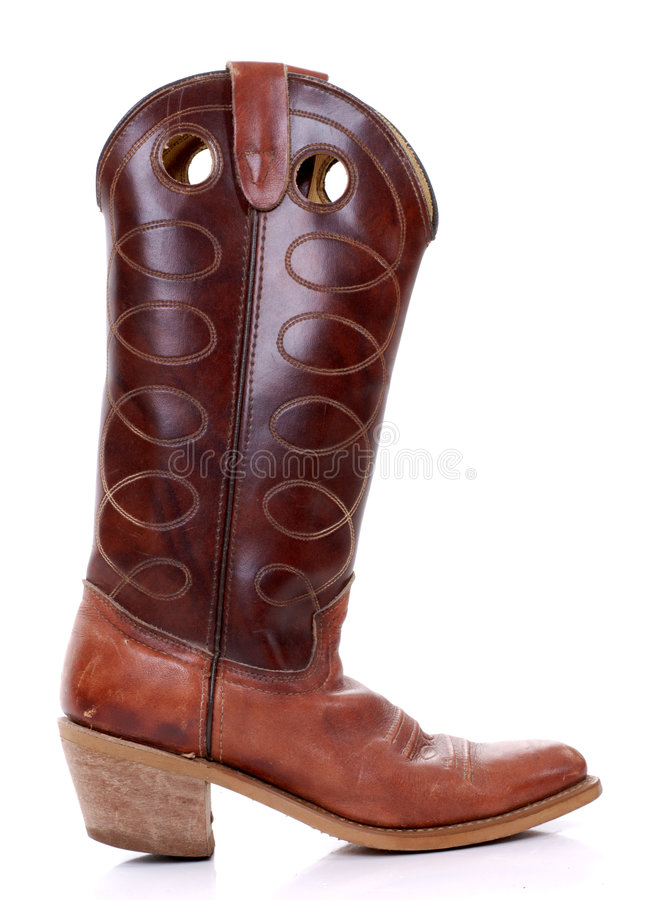 Cowboy Boot stock images