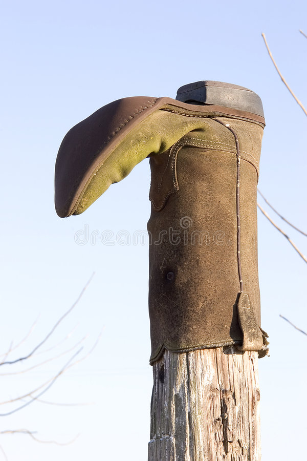 The Cowboy Boot stock photography