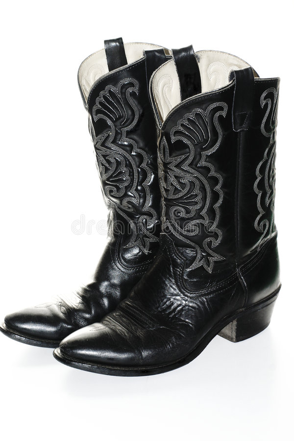Cowboy Boots stock photography