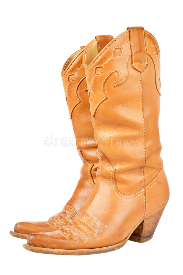 Cowboy boots stock image