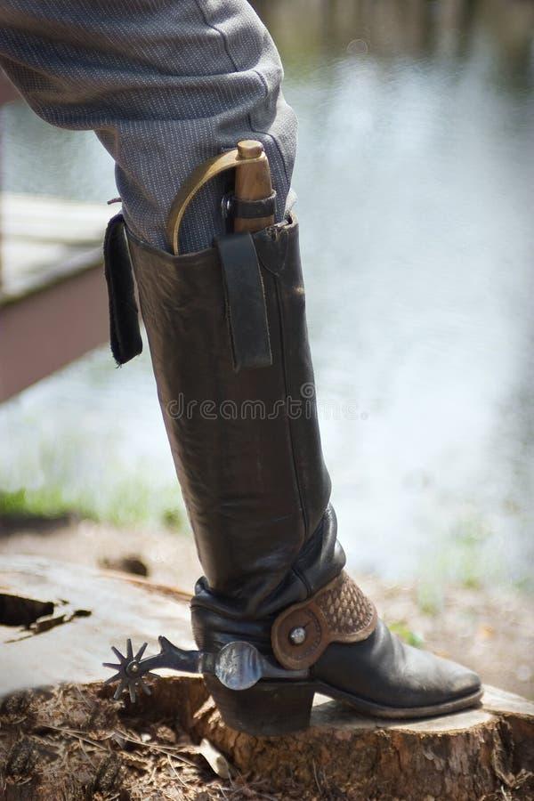 Cowboy Boots royalty free stock photo