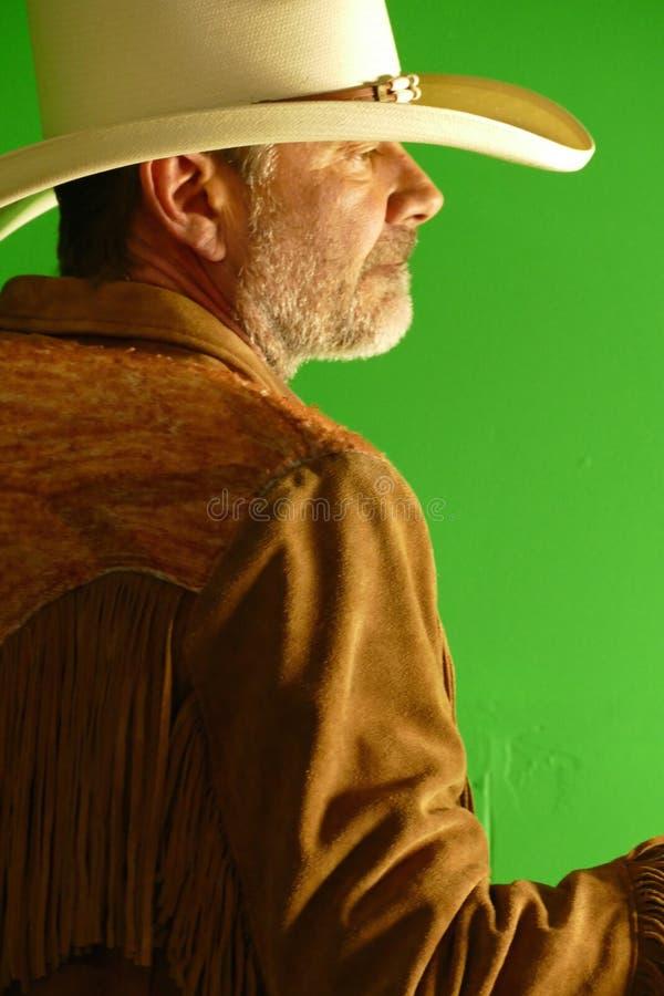 Cowboy con il cappello immagini stock