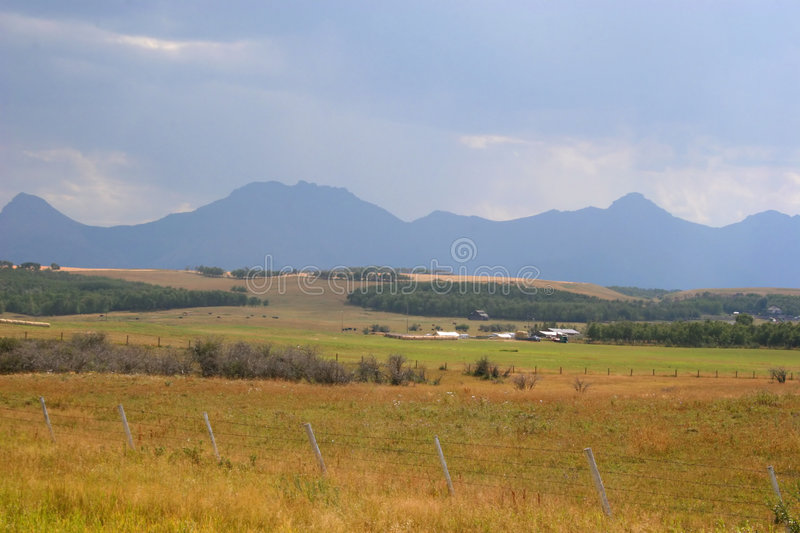 Download Cowboy Country 1 stock image. Image of mountains, cloud - 1403025