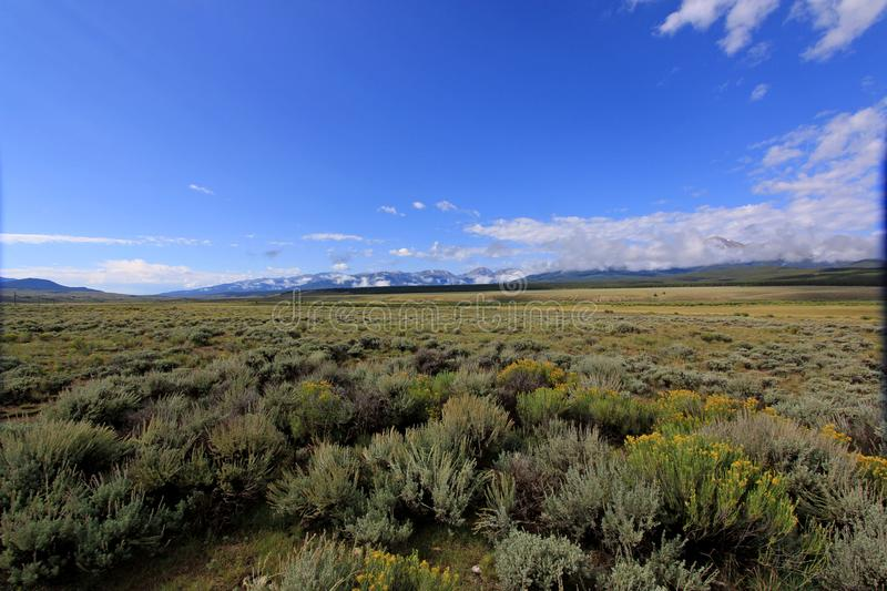 Cowboy Country. Ranching country of southern Colorado royalty free stock image