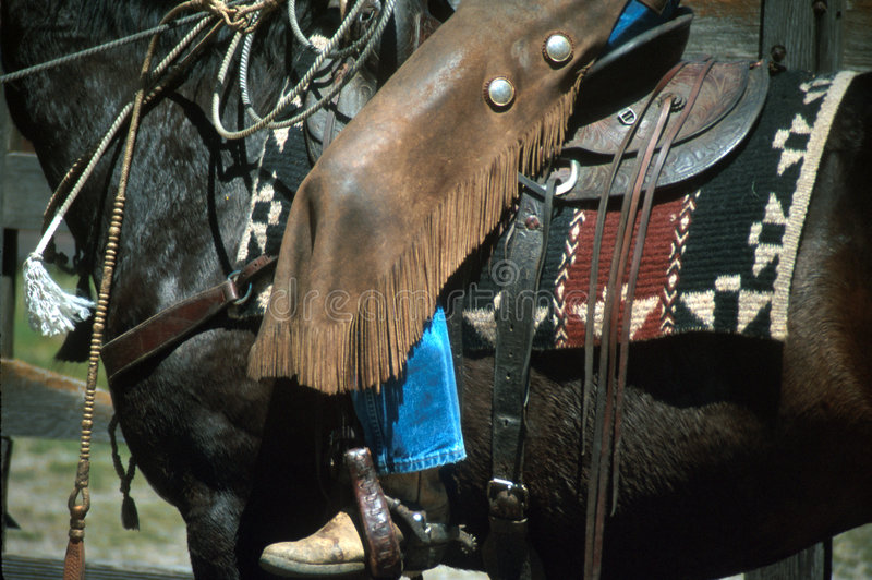 Cowboy days royalty free stock photography