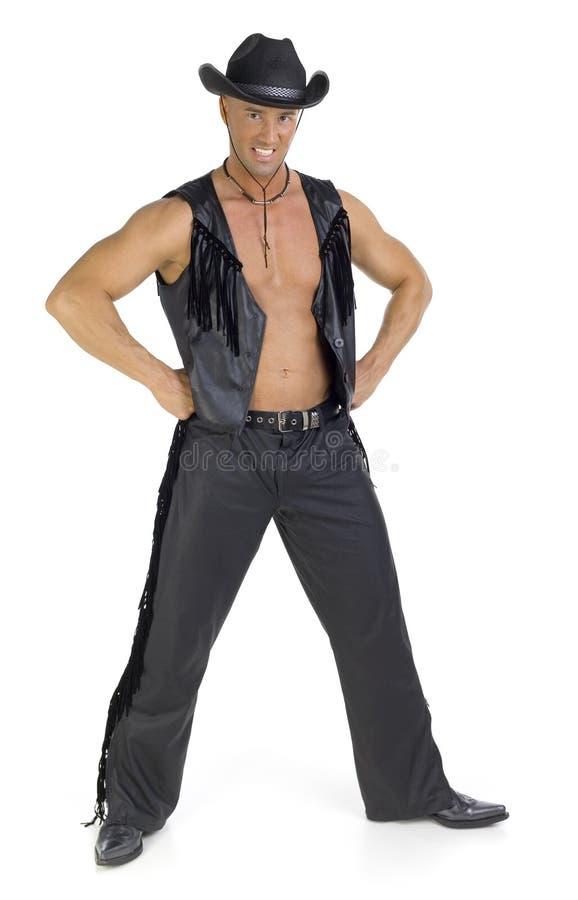 Cowboy fiero immagine stock libera da diritti