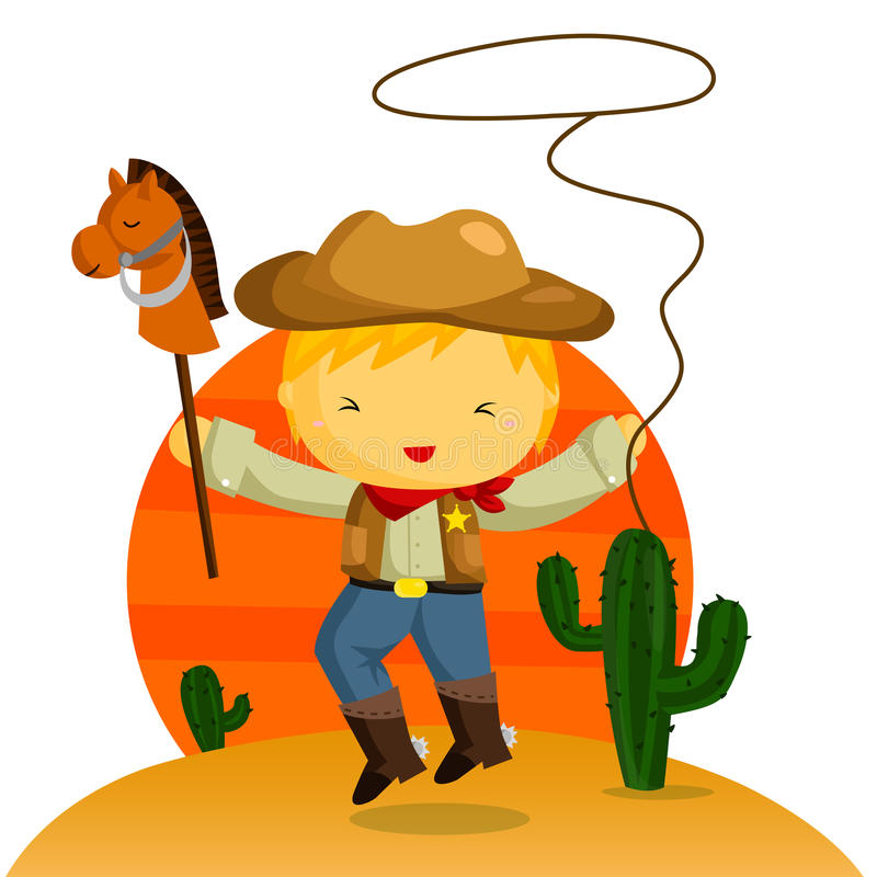 Download Cowboy stock vector. Image of texas, sport, characters - 31777114