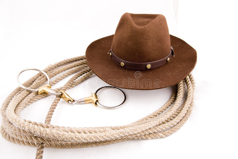 Download Cowboy gear stock image. Image of metal, rancher, rope - 5884459