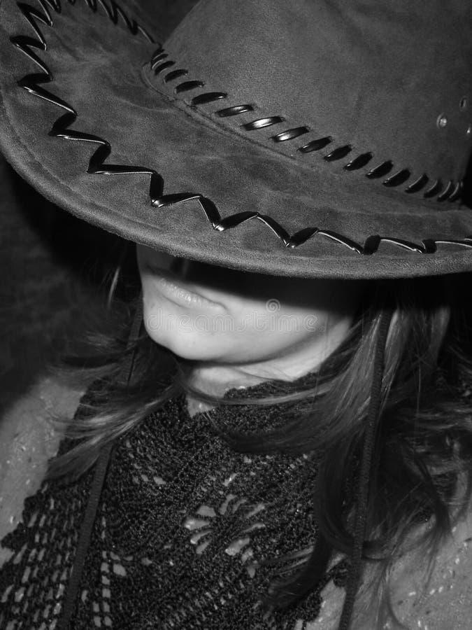 Cowboy girl royalty free stock image