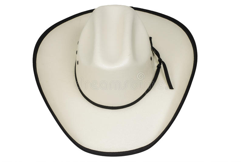 Cowboy Hat Isolated arkivfoton
