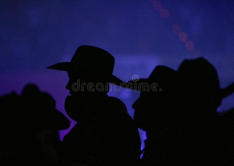 Download Cowboy Hat Silhouette stock image. Image of black, american - 8444155