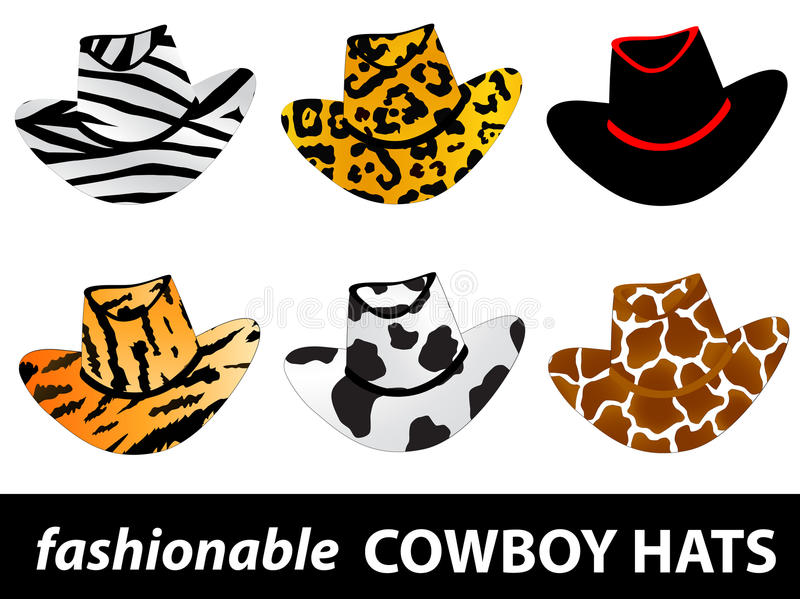 Cowboy Hats Royalty Free Stock Photography