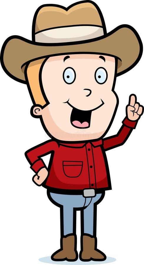 Cowboy Idea stock illustration