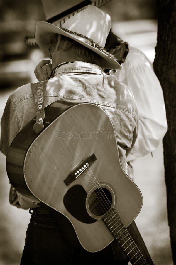 Cowboy Jam Session stock photos
