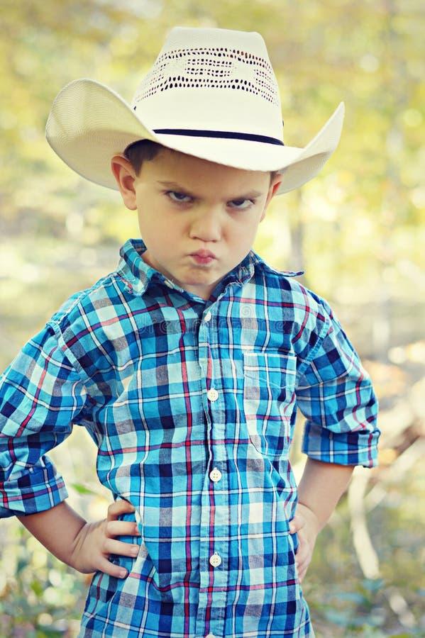 Cowboy Kiss Face photos libres de droits