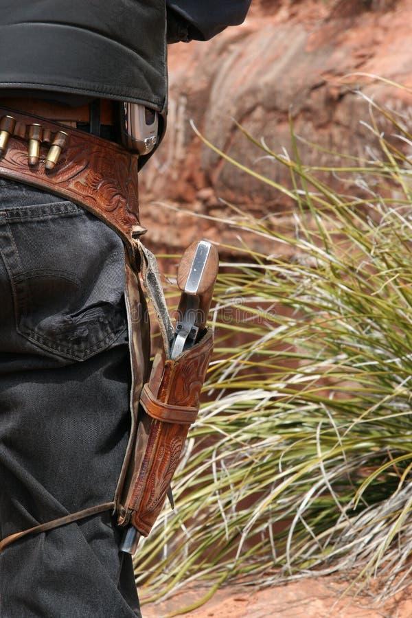 Cowboy moderno fotografia de stock