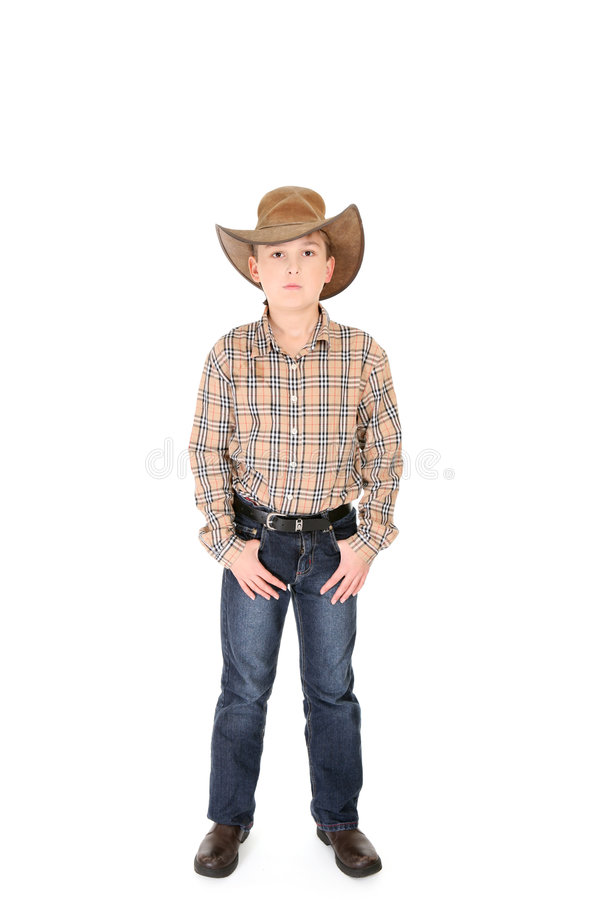 Cowboy novo imagens de stock royalty free