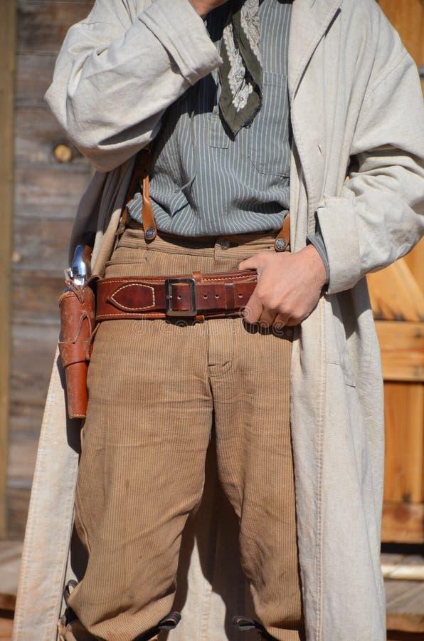 Cowboy occidental sauvage photographie stock libre de droits