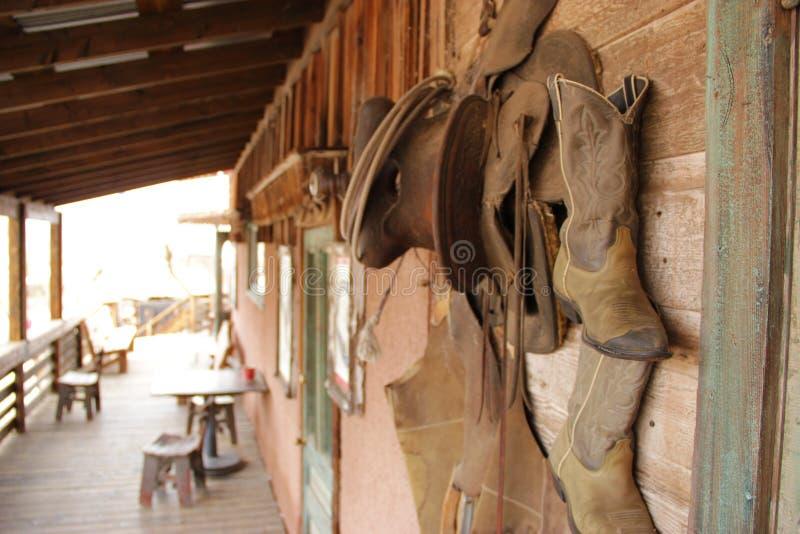 Cowboy occidentale Gear immagini stock