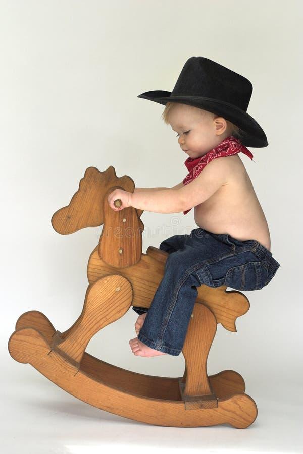 Cowboy pequeno foto de stock royalty free