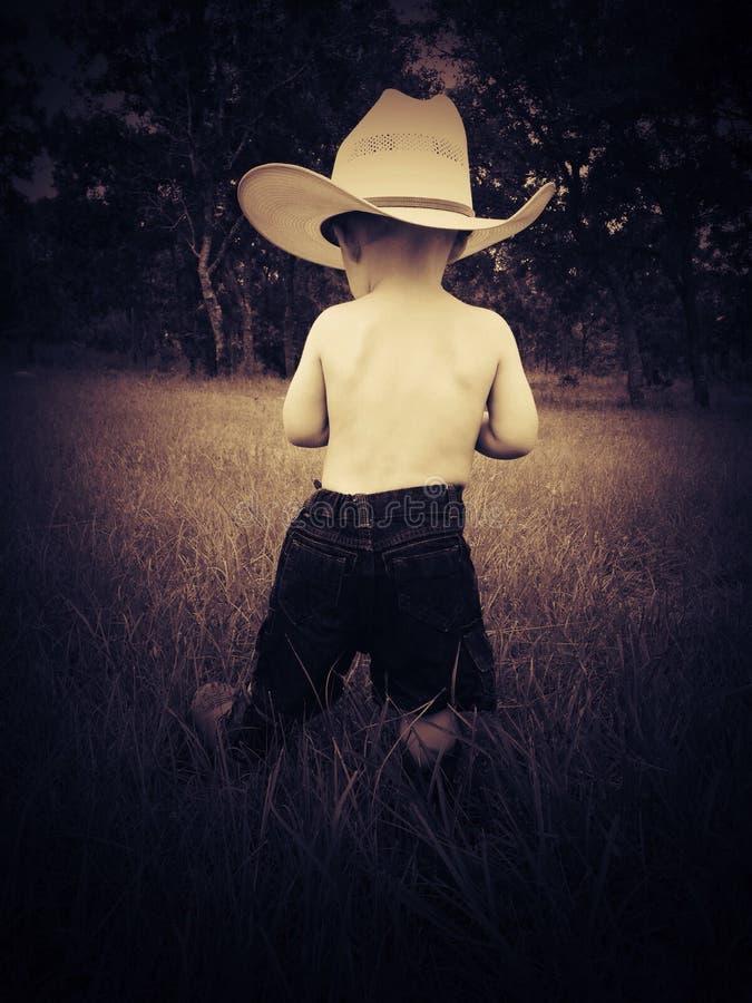 Cowboy pequeno fotos de stock
