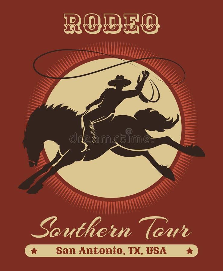 Cowboy Poster del rodeo