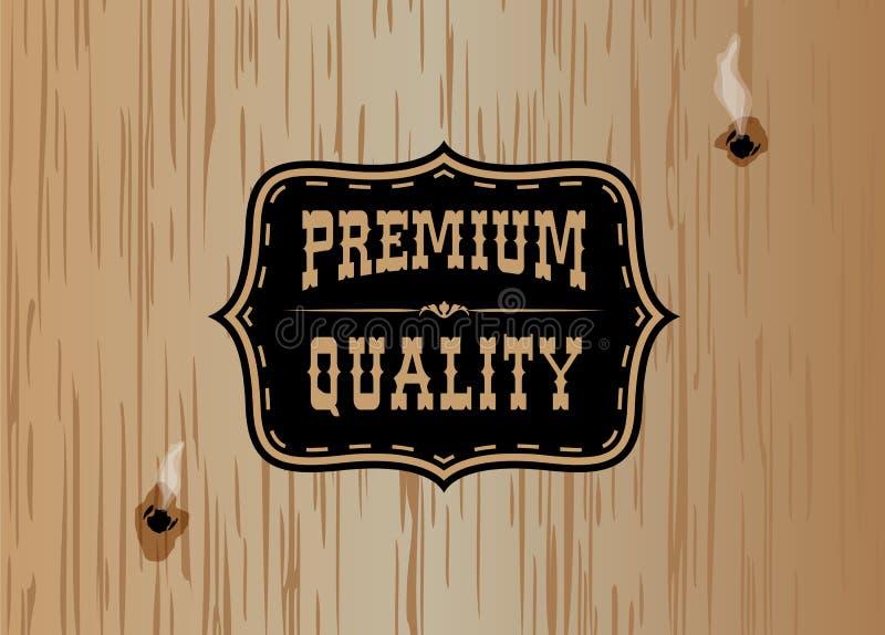 Cowboy sign1 vector illustration