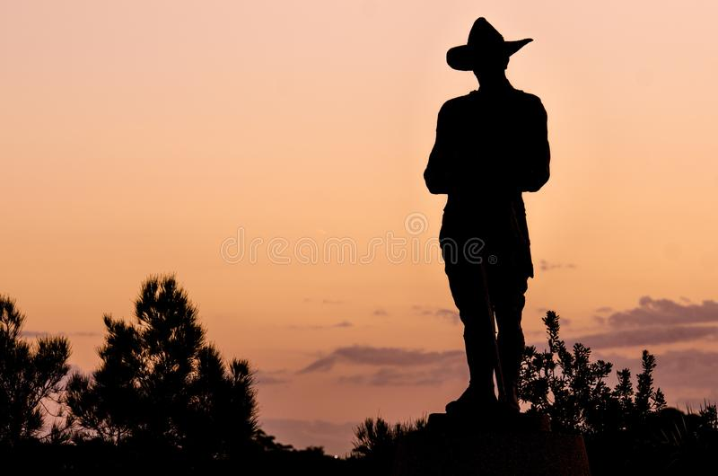Cowboy Silhouette At Sunset Free Public Domain Cc0 Image