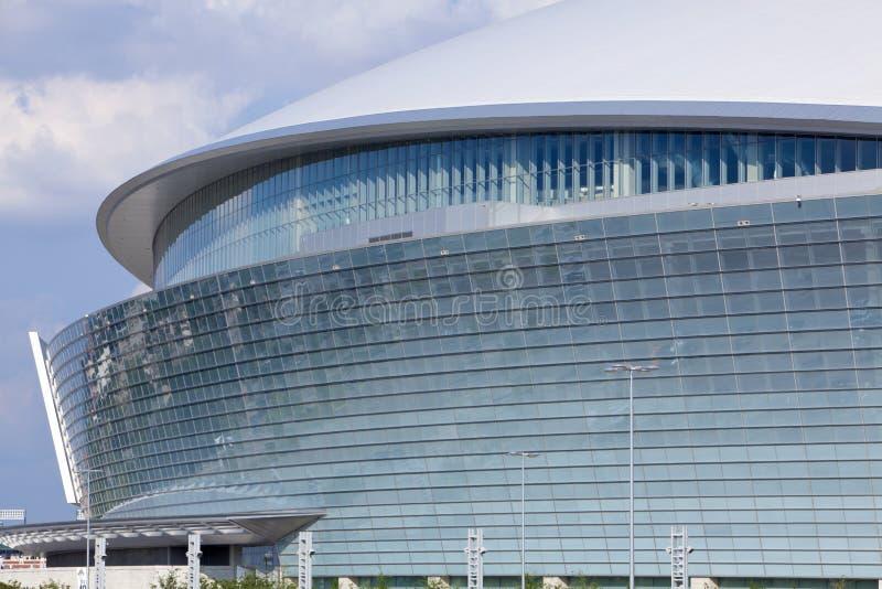 Cowboy-Stadion - Super Bowl 45 lizenzfreie stockfotos