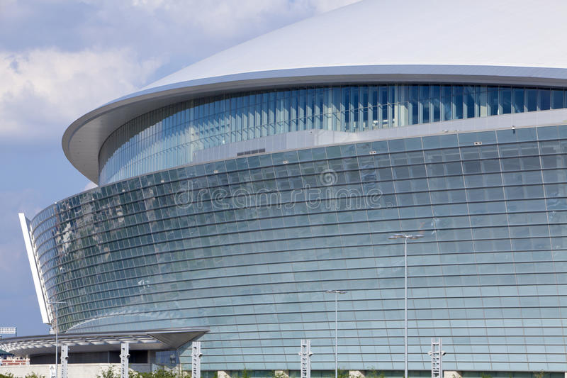Cowboy Stadium - Super Bowl 45 royalty free stock photos