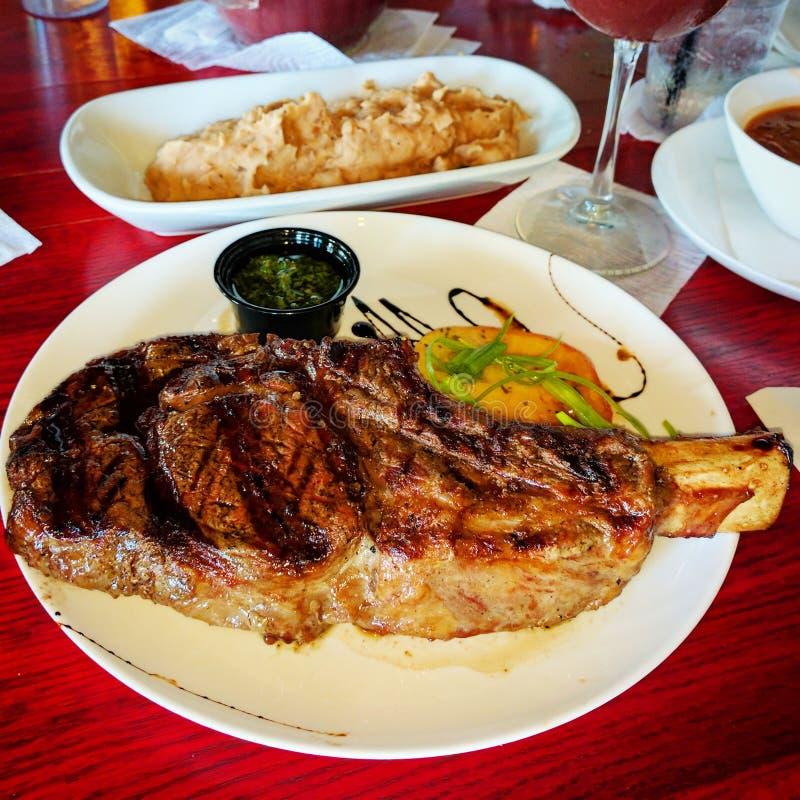 Cowboy Steak fotografie stock libere da diritti