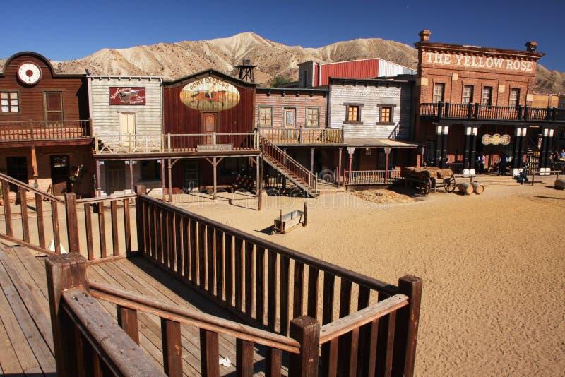 Cowboy Town lizenzfreies stockbild