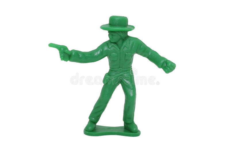 Download Cowboy Vert De Jouet (image 8.2mp) Photo stock - Image du gibier, plastique: 54818