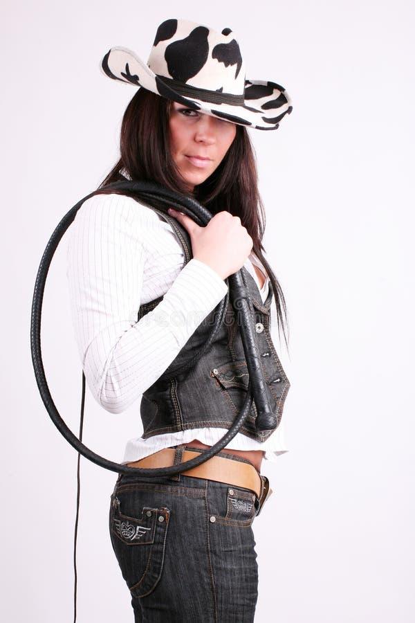 cowboyflicka arkivfoton