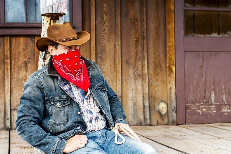 Cowboygeist lizenzfreie stockbilder