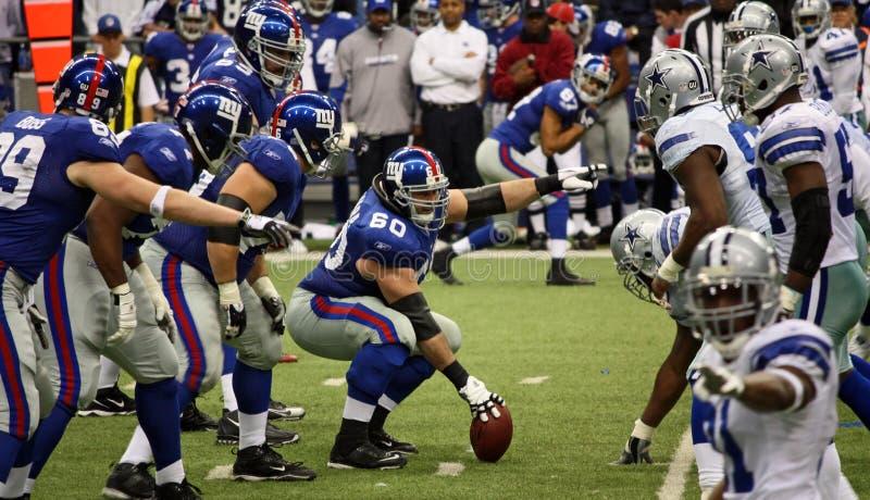 Cowboys e ponto de Giants fotos de stock