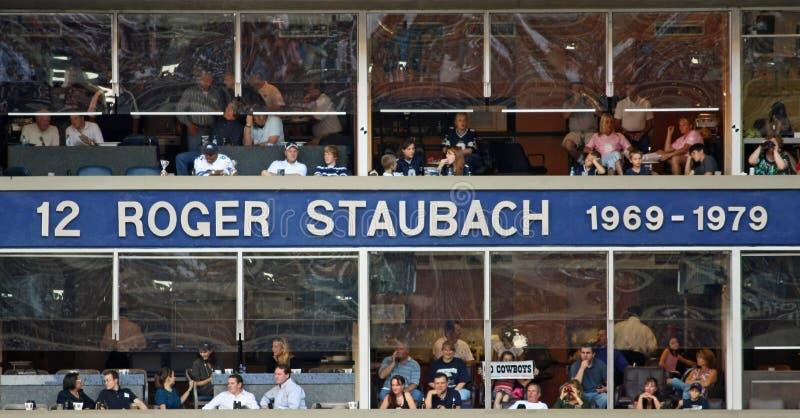 Cowboys Ring Of Honor Roger Staubach Editorial Photo
