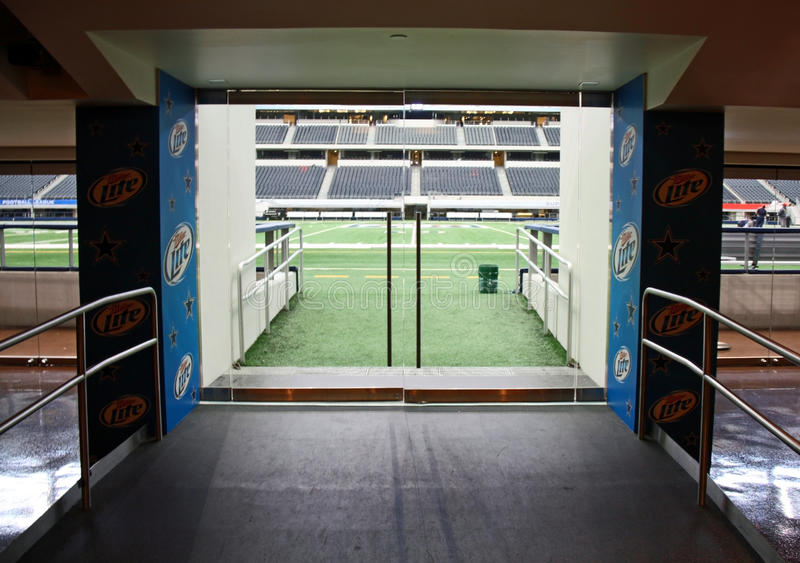 Cowboys Stadium Field Entrance royalty free stock image