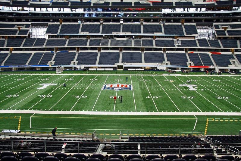 Cowboys Stadium Field Super Bowl stock photography