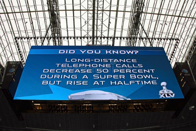 Download Cowboys Stadium Giant Scoreboard Editorial Stock Image - Image: 18176454
