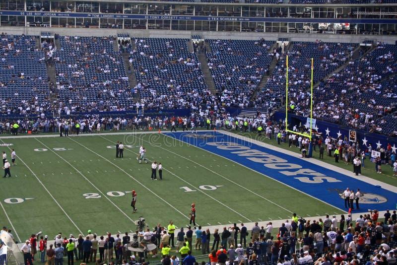 Cowboys Texas Stadium End Zone royalty free stock photos