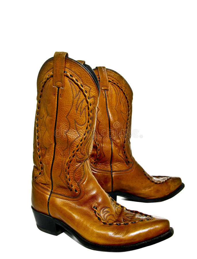 Cowboystiefel lizenzfreie stockfotos